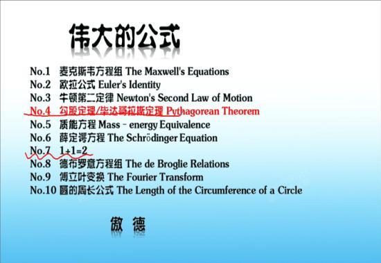 欧拉公式是什么高清图片
