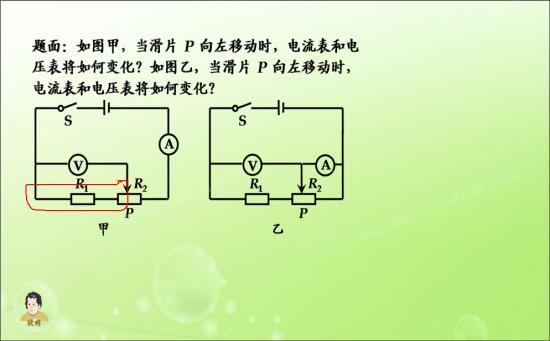 为什么第一次电压表测的是红色圈的部分 不_初三物理