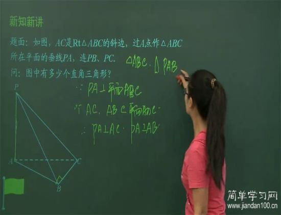 有详细的 线面平行 线面垂直的七个定理_高一