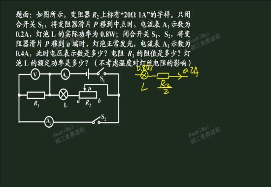 关于滑动变阻器对电路的关系不明白啊_初三物理
