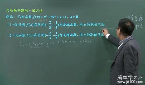 原函数为减函数的充要条件的确是导函数小于_