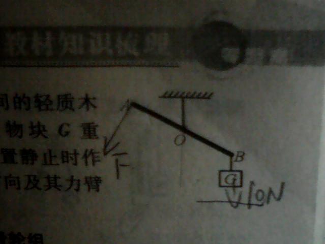 杠杆平衡问题_初三物理机械和功能