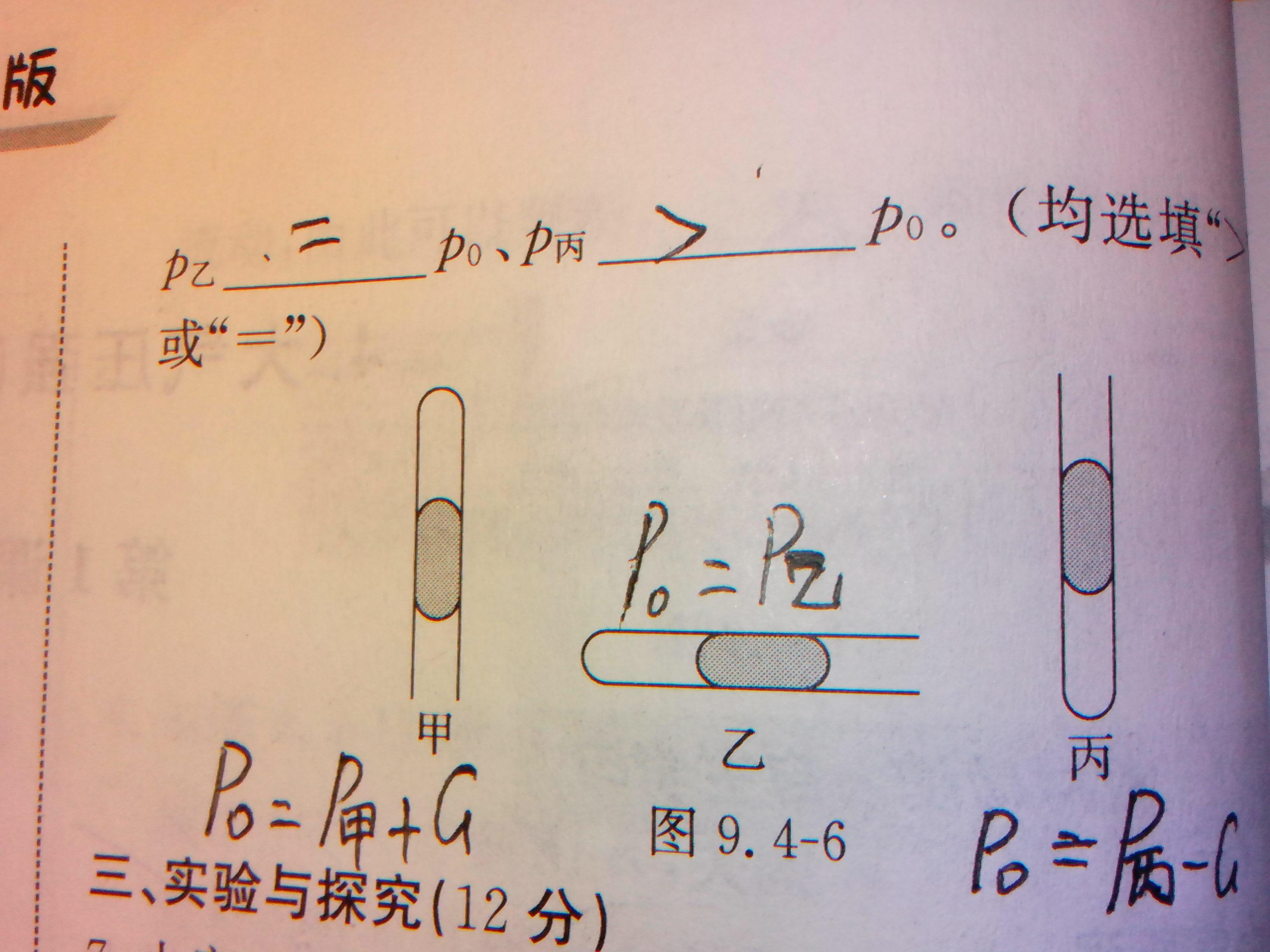 关于物理大气压强图片