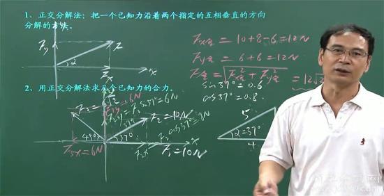 老师之前有段时间是用电子笔写板书,现在又_高一物理