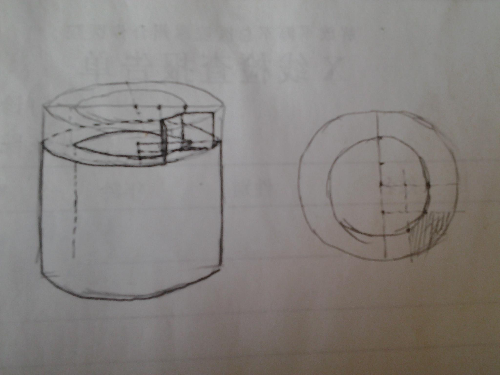 素描立体几何图形图片