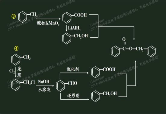 甲苯在酸性高锰酸钾溶液中具体通过怎样的反