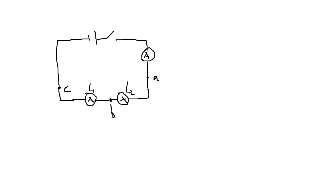 小强同学在探究串联电路电流规律的实验中,按题图连接好了电路.