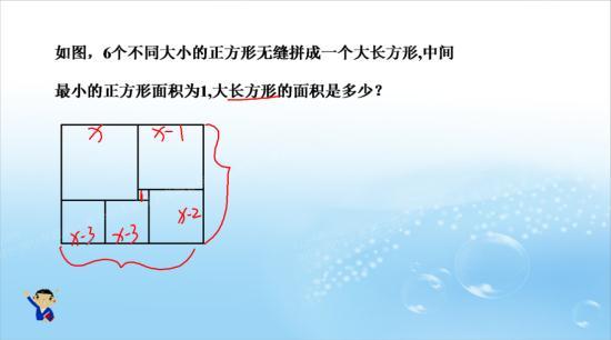 不是不同大小的正方形吗?